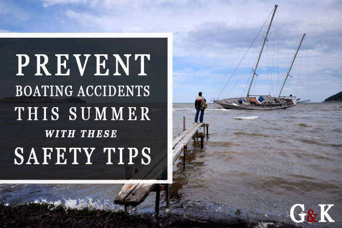 boating accident summer safety tips
