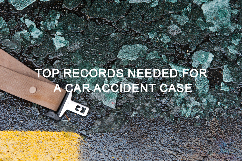 Records for Car Accident Case