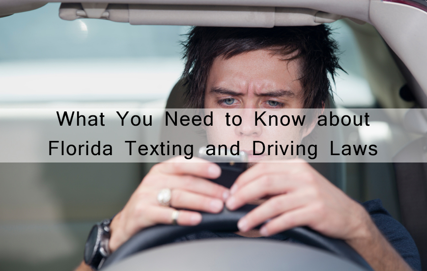 Texting and Driving Picture