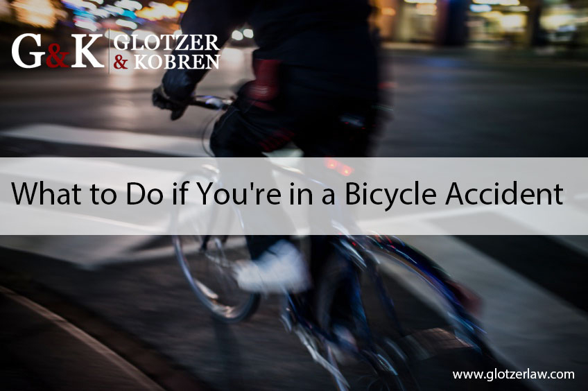 What to Do if You're in a Bicycle Accident