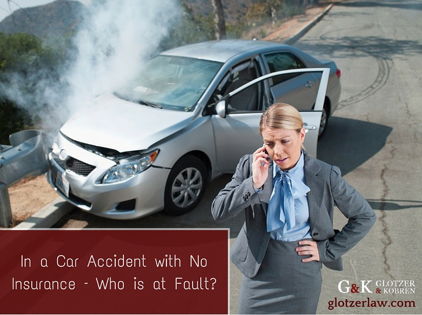 In a Car Accident with No Insurance – Who is at Fault?
