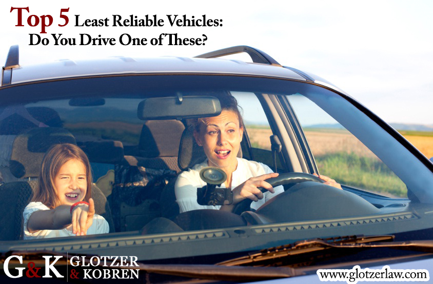 Top 5 Least Reliable Vehicles Do You Drive One of These