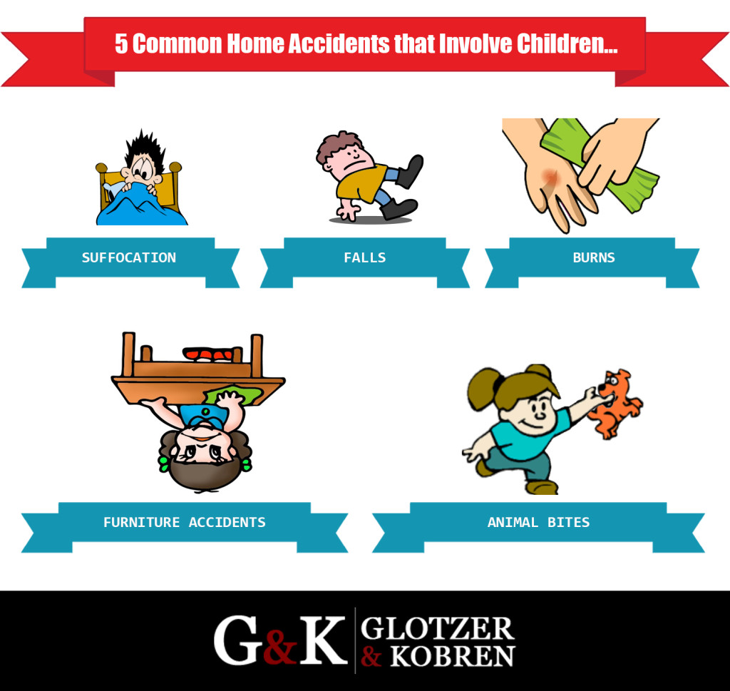 Common home accidents that involve children personal injury lawyer