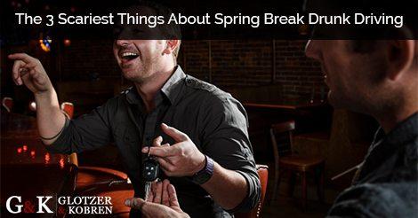 Spring Break Drunk Driving
